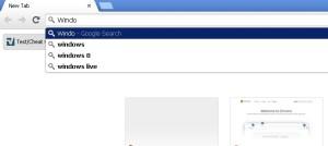 Google Chrome keylogging