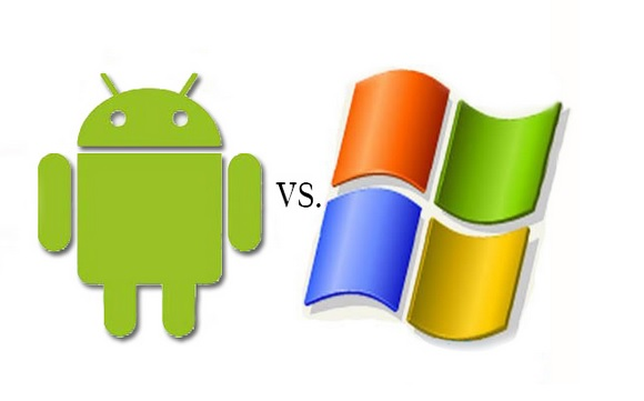 Android vs Windows Difference