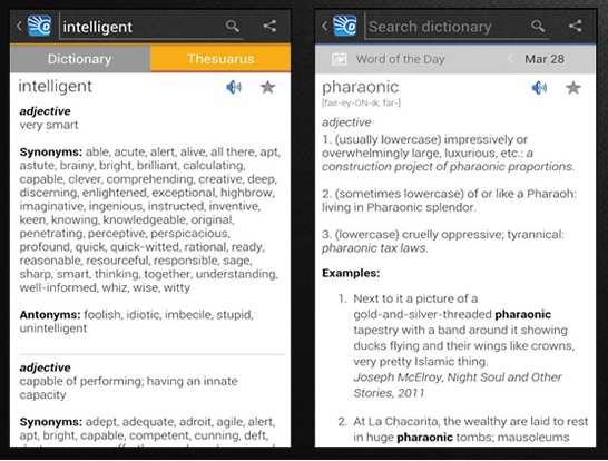 Dictionary App Android