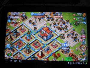 Galaxy Tab 10.1 Display Color