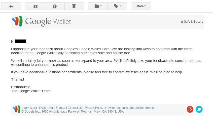 Google is launching Google Wallet to other countries as well
