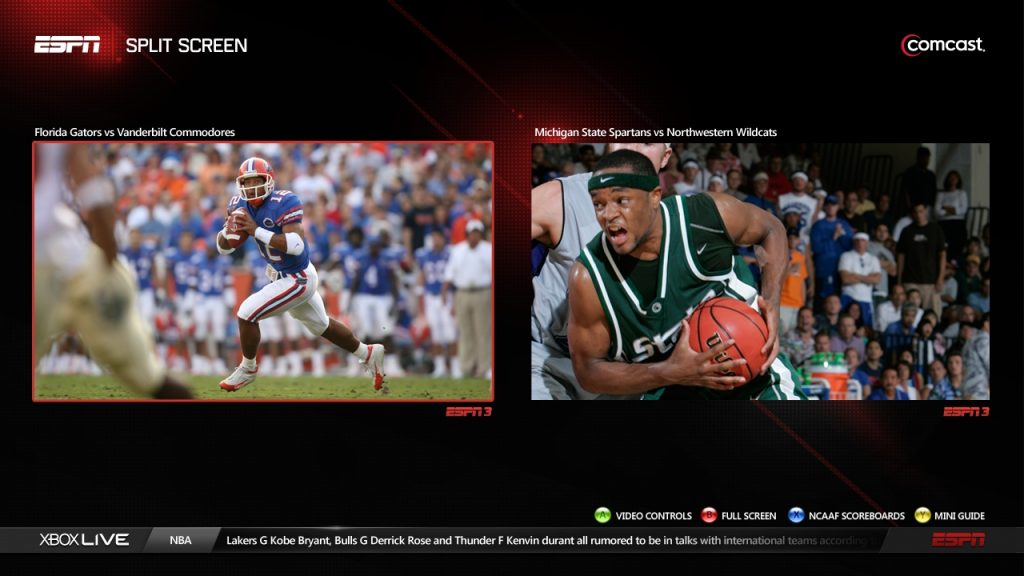 Xbox One Split Screen