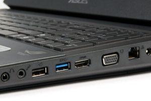 HDMI, Ethernet Ports
