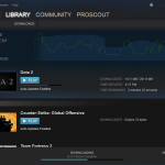 Pause Download in Steam