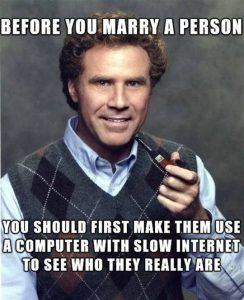 Slow internet Meme