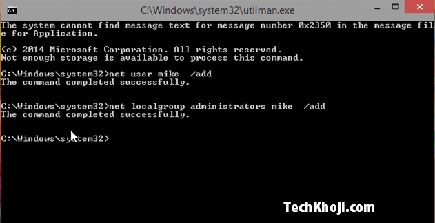 Utilisateur Windows 10