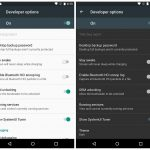 Android M Developer Options