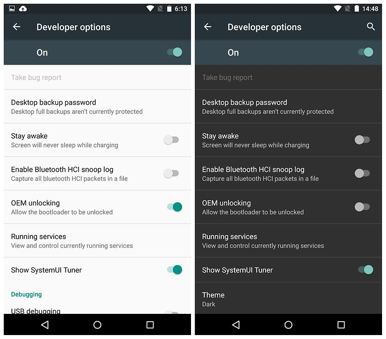 Android Police published new screenshots. We can see changes in ...