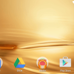 Android M Home Screen