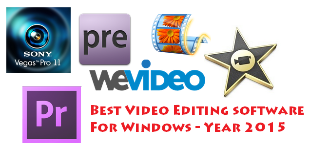 Best Video Editing Software 2015