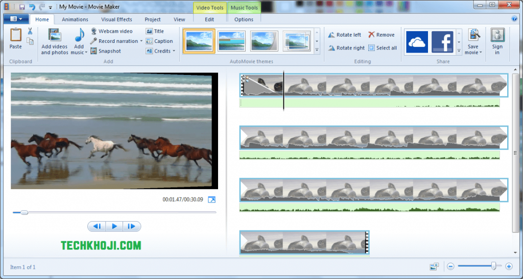 Top 5 video editing software for windows 10 techkhoji windows movie maker ccuart Images