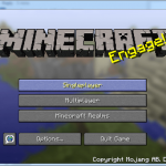 Minecraft 1.9 Launch Screen