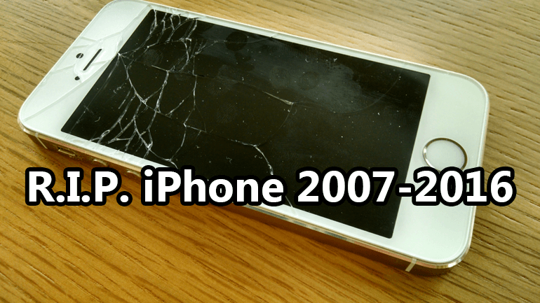 Good Bye to Apple iPhone