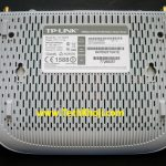 Back side of TP-Link Router