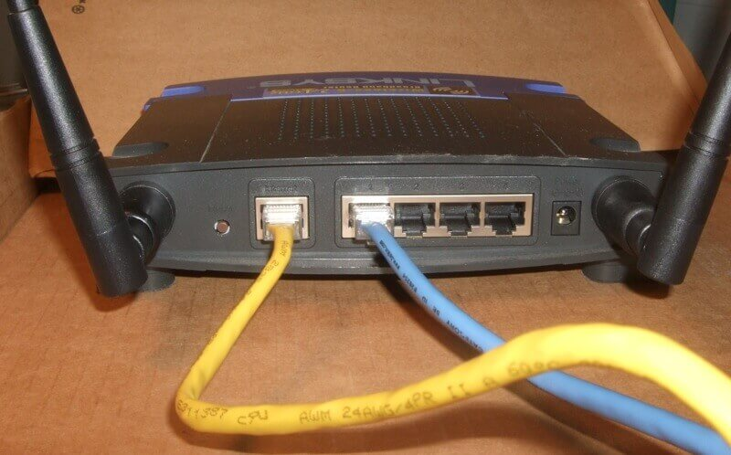 Ethernet Router Connection