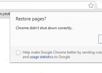 Google Chrome Crash Right Click
