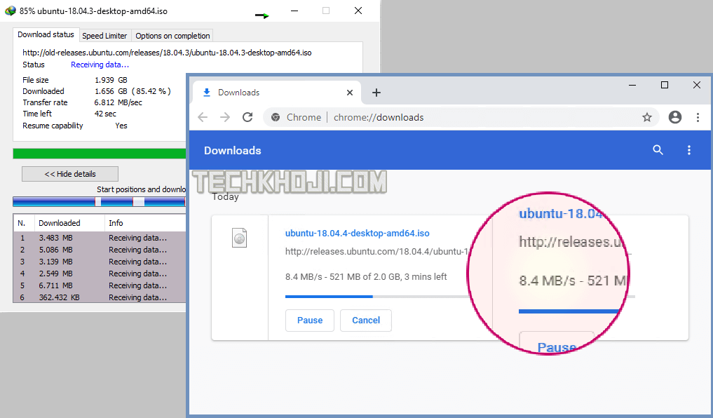 Slow Download Speed Chrome Fix